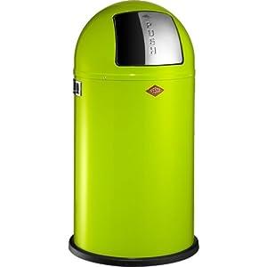 Grande poubelle design retro de wesco allemagne pushboy - Poubelle de cuisine 50 litres ...