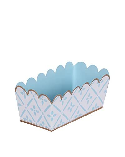 Jayes Flora Desk Caddy, Blue