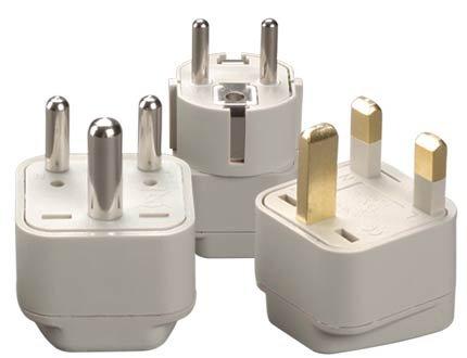 Singapore Grounded Adapter Plug Kit - Gub, Gud And Guf
