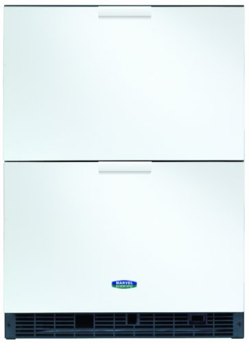 Marvel Scientific 6Crde011 Two-Drawer Undercounter Refrigerator, Door Color White, Cabinet Color White front-239070