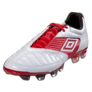 Umbro Geometra Pro A Fg-White/White/True Red/Kingfisher (12)