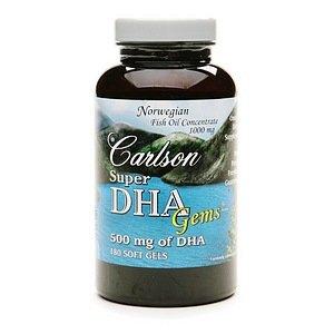 Carlson super dha gems softgels 180 ea for Carlson fish oil amazon