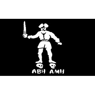 Pirate Flag - Black Bart - Buy Pirate Flag - Black Bart - Purchase Pirate Flag - Black Bart (PirateMerch, Home & Garden,Categories,Patio Lawn & Garden,Outdoor Decor,Banners & Flags)