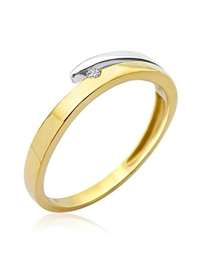 Miore Anillo Spb4610R50 Oro Blanco / Oro Amarillo