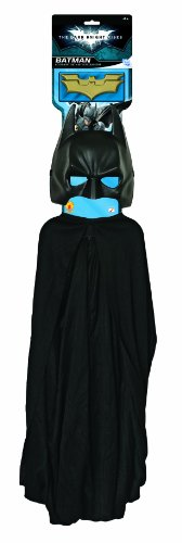 Imagine by Rubie's Batman: The Dark Knight Rises: Batman Child's Costume Set with Mask, Cape and Batarangs