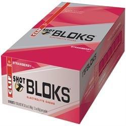 Clif Bar Schuss Bloks Erdbeere 60g x 18