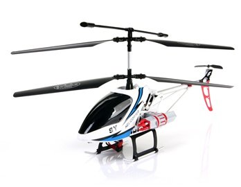 SONGYANG 8088-49 3.5 Channel Digital RC Helicopter with GYRO Light EU Plug (Blue)