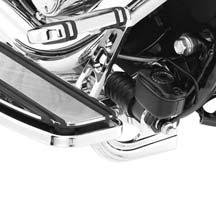 H-D Chrome Rider Footboard Brackets 33698-07