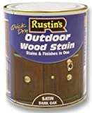 Woodstain, O/Door, Dark Oak, 500ml