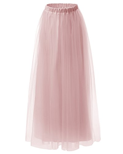 dresstells-womens-long-tulle-skirt-maxi-prom-evening-gown-two-way-formal-skirt-blush-s