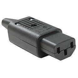 Generic 121 2616 Iec C13 Power Cord Plug Connector