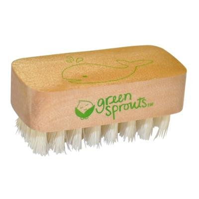 green sprouts by i play Nail Brush
