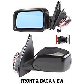 BMW X5 00-06 SIDE MIRROR LEFT DRIVER, POWER, HEATED, FOLDING, SPORT PKG (2001 Bmw X5 Side Mirror compare prices)