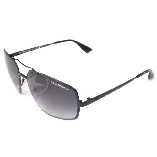 Emporio Armani Men's 9639 Matt Black Frame Sunglasses