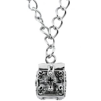 Sterling Silver Letting Go Locket Bracelet