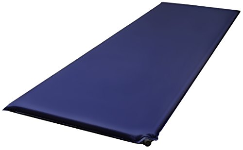 BalanceFrom Lightweight Self-Inflating Sleeping Air Pad with Carrying Strap (Navy(Regular))