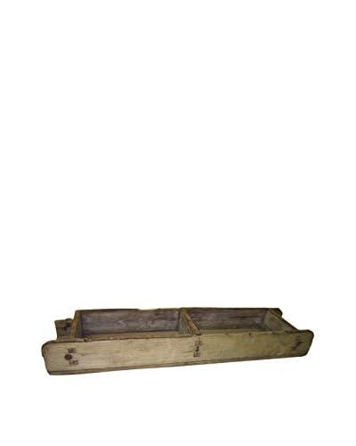Asian Loft Late 19th Century Brick Molds, Natural Wood