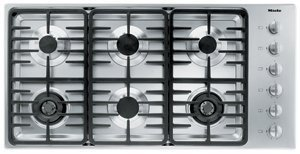 Miele : KM3485LP 42 Stainless Steel Gas Cooktop