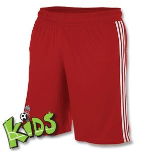 LIVERPOOL 2010/2011 Junior Home Shorts, Red, 8 Years