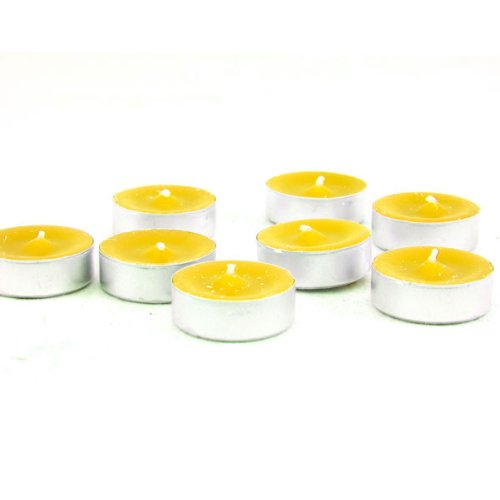 Citronella Summer Yellow Tealight Candles Set of 40 MADE IN USA , By Shop A Candle