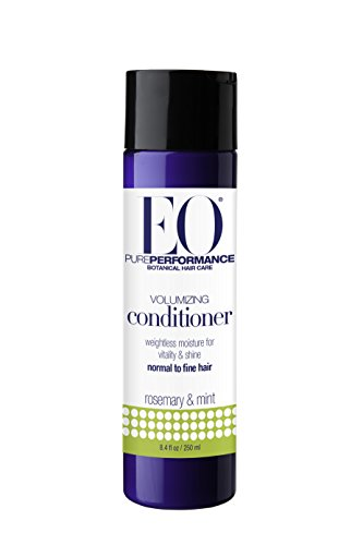 EO Botanical Volumizing Conditioner for Normal to Fine Hair, Rosemary and Mint, 8.4 oz (Pack of 3) (Eo Essentials Conditioner compare prices)