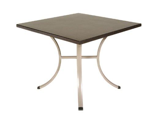 Sun Garden Untergestell zu Tisch York, zu 110 cm und 90x90 cm Tischplatten
