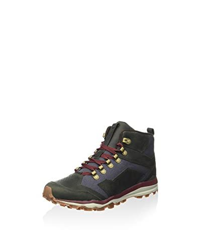 Merrell Scarponcino Outdoor All Out Crusher Mid M [Verde Bosco/Denim]