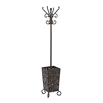 OSP Designs MDT13 Middleton Coat Rack, Antique Bronze
