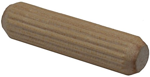 BICB Fluted Wood Dowel Pins- 1/4