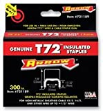 STAPLES, 9X15MM, INSULATED (PK 300)