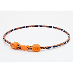 Eagles Wings Illinois Fightin Illini 21 Necklace by Eagles Wings