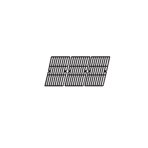Music City Metals 61593 Gloss Cast Iron Cooking Grid Replacement for Gas Grill Models Uniflame GBC1059WB and Uniflame GBC1059WE-C, Set of 3