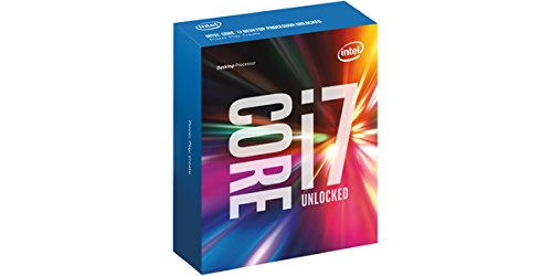 Intel BX80662I76700K Box Core I7-6700K Processore, Argento
