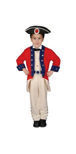 Colonial Soldier Child Costume