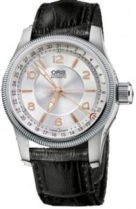 Oris Men's 754 7628 4061LS Big Crown Pointer Automatic Silver Dial Watch from Oris
