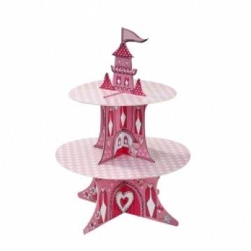 Princess Party 2-Tier Castle Cakestand