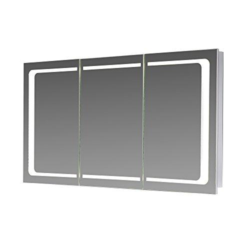 Eurosan-L100-3-triger-SpiegelschrankIntegrierte-LED-FrontbeleuchtungweiLondonHolz100-x-62-x-13-cm