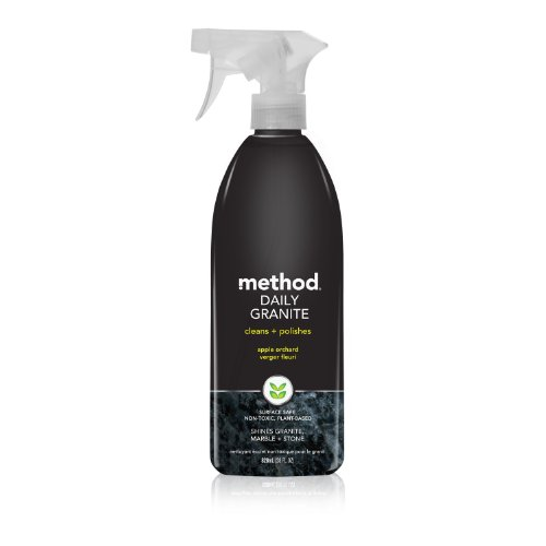 Method Daily Granite Cleaner, Apple Orchard, 28 Ounce (Pack of 8)