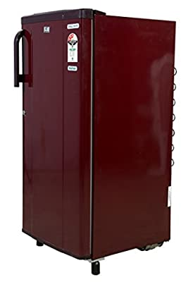 Videocon VAE203 Chill Mate Direct-cool Single-door Refrigerator (190 Ltrs, Burgundy Red)