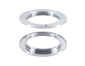 Al Lens To M42 Mount Adapter (Silver)