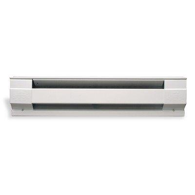 Cadet Electric Baseboard Heater - 120 Volt, 500 Watt, White, Model# 2f500w-1w