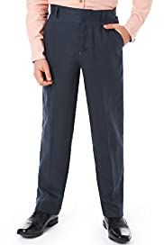Autograph Pure Linen Active Waistband Flat Front Trousers
