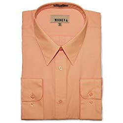 Modena Big & Tall Fashion Dress Shirt - PINK