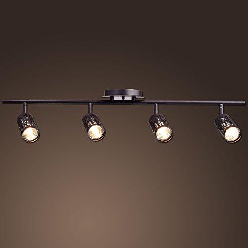 Vintage Kitchen Track Lighting: CLAXY Ecopower Vintage Oil Rubbed Bronze Metal Track