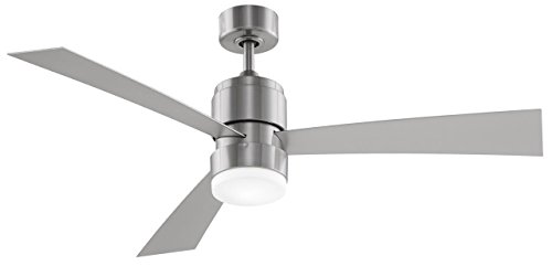 Fanimation FP4650BN Zonix Fan with 14-watt LED, Brushed Nickel (Ceiling Fan Zonix compare prices)