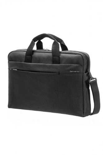 "Samsonite Cartella Network 2 Laptop Bag 15""-16"" 12 liters Nero (Charcoal) 51884-1174"