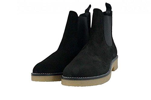 Stivali alla caviglia Soldini donna numero 40 19664NERO in camoscio nero, woman boots shoes black suede