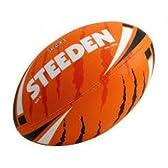 ラグビーの本場オーストラリアのトップメーカーSTEEDEN社製 ラグビーボール5号(オレンジ)