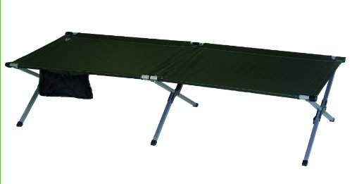 Rio Adventure Military Cot (1-Piece), X-Large, Green
