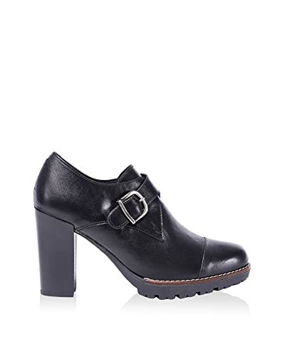 UMA Zapatos abotinados Lina Negro